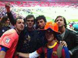 Culers del Ripollès a Wembley Foto: Jordi Esclusa i Àngel Álvarez