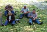 Exhibició de dallar a mà a Vallfogona