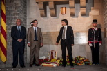 Diada Nacional: acte institucional amb Artur Mas