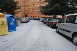 Glaçades i enfarinada del 23 de desembre El barri de Fuensanta enfarinat. Foto: Arnau Urgell