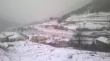 Nevada del 7 de febrer Gombrèn ben nevat. Foto: Hermenegild Falguera