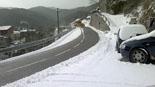 Nevada del 7 de febrer A Gombrèn s'han acumulat 6 cm. Foto: Hermenegild Falguera