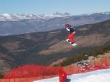 Entrenament mundial d'snowboard