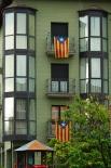 Diada Nacional: estelades al Ripollès Ripoll. Foto: Arnau Urgell