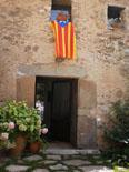 Diada Nacional: estelades al Ripollès Estelada a Vallfogona. Foto: Cari Gonzàlez