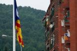 Diada Nacional: hissada d'estelades a Ripoll