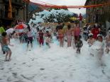 Festa Major de Pardines Festa de l'escuma. Foto: Joan Vila i Triadú