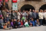 Fira de Sant Isidre: tractors i castellers