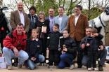 Fira de Sant Isidre: concurs morfològic vaca bruna