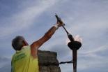 Rebuda de la Flama del Canigó a Ripoll, 2012