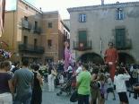 Festa Major de Sant Joan: fotos lectors Ball de gegants a la plaça Major. Foto: Carles Bassaganya