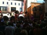 Festa Major de Sant Joan: fotos lectors Ball de gegants a la plaça Major. Foto: Sergi Albrich
