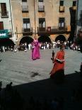 Festa Major de Sant Joan: fotos lectors Els Gegants després de l'ofici. Foto: Sergi Albrich
