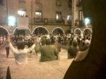 Festa Major de Sant Joan: fotos lectors Sardana nocturna a la plaça Major. Foto: Guifré Miquel