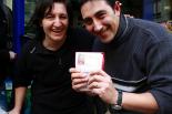 Celebració del 4t premi de la Loteria de Nadal