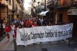Manifestació contra el tancament nocturn del CAP
