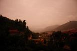 Ripollès: paisatge i meteorologia (agost 2011) Després de la tempesta de Ripoll (3 d'agost). Foto: Arnau Urgell