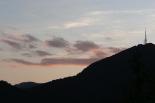 Ripollès: paisatge i meteorologia (agost 2011) Capvespre al Catllar de Ripoll (9 d'agost). Foto: Arnau Urgell