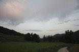 Ripollès: paisatge i meteorologia (agost 2011) Capvespre a la vall del Merdàs de Campdevànol (18 d'agost). Foto: Arnau Urgell