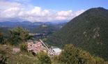 Ripollès: paisatge i meteorologia (juny-juliol 2011) Camprodon des de coll Gener. Foto: Joan Faig