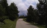 Ripollès: paisatge i meteorologia (juny-juliol 2011) El Taga des de la pista del collet de les Barraques. Foto: Jordi (@catrail)