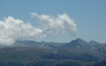 Ripollès: paisatge i meteorologia (juny-juliol 2011) Pastuira, Gra de Fajol i Torreneules. Foto: Jordi Campos