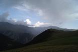 Ripollès: meteorologia (setembre i octubre 2011) Núvols amenaçadors a prop de Núria (23 de setembre). Foto: Agustí Mas