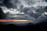 Ripollès: meteorologia (setembre i octubre 2011) Espectacular capvespre a Camprodon (25 de setembre). Foto: Rastres (Raül Duque i Gerard Garcia)
