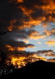Ripollès: meteorologia (setembre i octubre 2011) Capvespre al Catllar de Ripoll (9 d'octubre). Foto: Arnau Urgell
