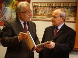 Visita del president Montilla a la Fundació Eduard Soler