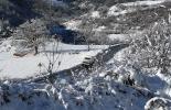 Nevada del 28 i 29 de gener La vall del Segadell ben blanca. Foto: Arnau Urgell