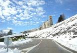 Nevada del 28 i 29 de gener Molló nevat el dissabte. Foto: Maria Vidal