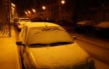 Nevada del 28 i 29 de gener Primera enfarinada a Ripoll (divendres nit). Foto: Arnau Urgell