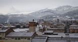 Nevada del 28 i 29 de gener Ripoll enfarinat aquest dilluns. Foto: Mercè Mauri