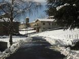 Nevada del 28 i 29 de gener L'entrada de Molló ben blanca. Foto: Pep Coma