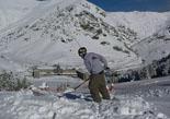 Nevada del 28 i 29 de gener Ha Núria han caigut uns 35 cm de neu. Foto: Vall de Núria