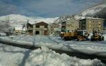 Nevada del 28 i 29 de gener Vilallonga ple de neu. Foto: Xavier Monge