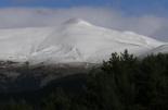 Primera gran nevada a les muntanyes El Balandrau des del coll de Jou. Foto: Josep Manuel Mercader/Meteoribes