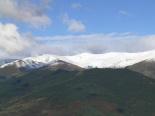 Primera gran nevada a les muntanyes El Puigmal des del coll de Jou. Foto: Josep Manuel Mercader/Meteoribes