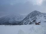 Primera gran nevada a les muntanyes A Vallter es van acumular més de 30 cm de neu. Foto: Alba Lapedra