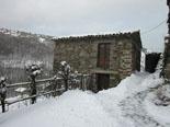 Llevantada 28 de febrer i 1 de març Més de 10 cm de neu a Espinavell (divendres). Foto: Eva Martínez/Can Jordi