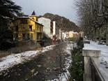 Nevada del 15 de gener Ribes, després de la nevada. Foto: Laia Deler