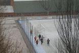 Nevada del 22 de febrer Els Senglars del Ripollès s'han entrenat amb neu. Foto: Senglars RC