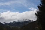 Nevada del 30 d'abril El Pirineu nevat des de Llanars. Foto: Marcel Urgell