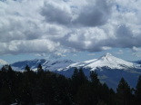 Nevada del 30 d'abril Vista des del collet de les Barraques. Foto: Josep Manuel Mercader/Meteoribes