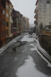 Nevada del 4 de febrer Camprodon nevat. Foto: Núria Carola
