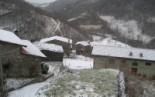 Nevada del 7 de gener Espinavell ja estava ben cobert de neu a primera hora. Foto: Eva Martínez-Picó
