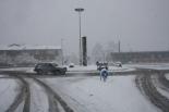 Nevada del 7 i el 8 de març L'entrada sud de Ripoll plena de neu. Foto: Arnau Urgell