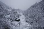 Nevada del 7 i el 8 de març Caganell ben nevat (09:00). Foto: Arnau Urgell