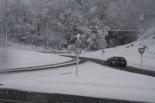 Nevada del 7 i el 8 de març L'estació de neu de Ripoll asolutament blanca (11:30). Foto: Arnau Urgell